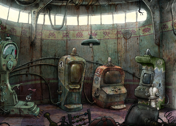 décors de l'application machinarium