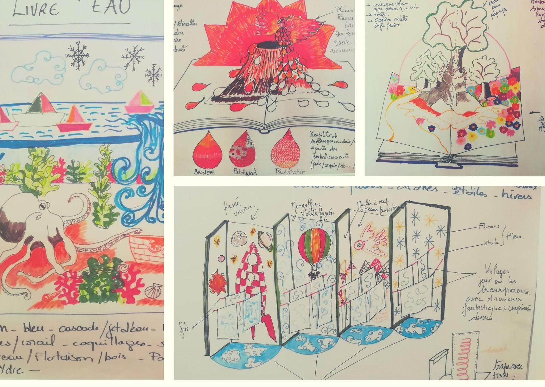 dessins de Catherine Primot