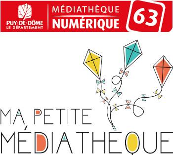 Logos de la Médiathèque numérique du Puy de Dôme