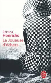 Couverture du roman la joueuse d'échecs