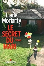Couverture du roman le secret du mari de Moriarty